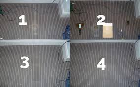 carpet repair process